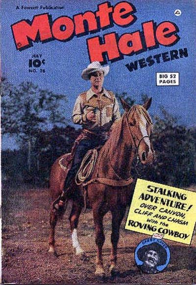 Cover for Monte Hale Western (Fawcett, 1948 series) #38