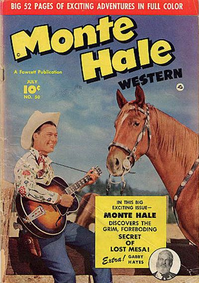 Cover for Monte Hale Western (1948 series) #50