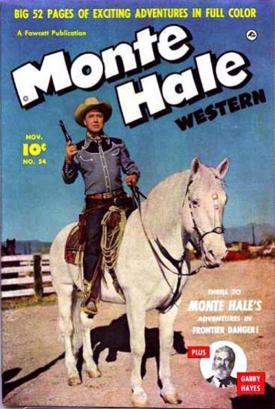 Cover for Monte Hale Western (Fawcett, 1948 series) #54