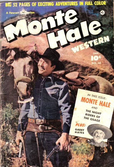 Cover for Monte Hale Western (Fawcett, 1948 series) #56