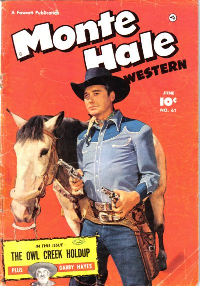 Cover for Monte Hale Western (Fawcett, 1948 series) #61