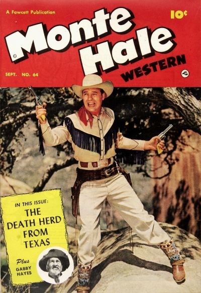 Cover for Monte Hale Western (1948 series) #64