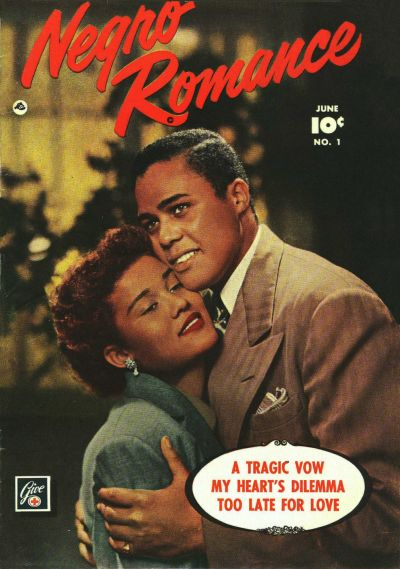 Cover for Negro Romance (Fawcett, 1950 series) #1
