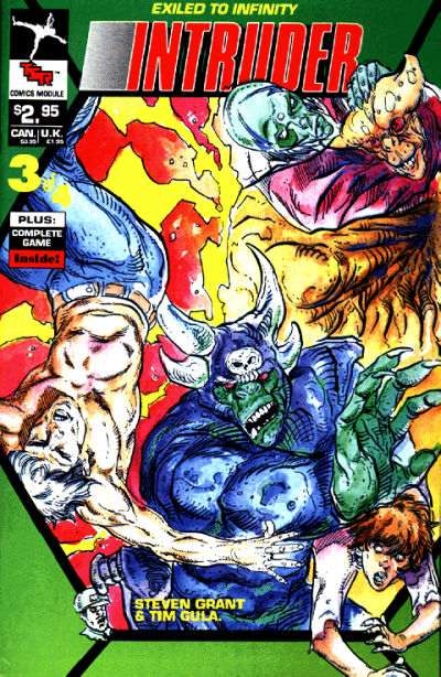 Cover for Intruder Comics Module (1990 series) #3