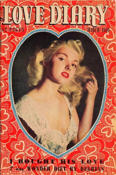 Cover for Love Diary (1949 series) #5