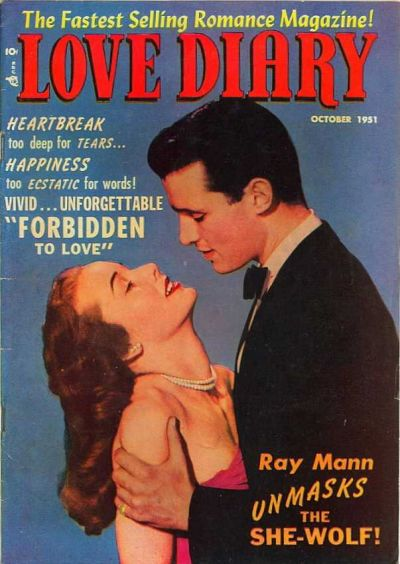 Cover for Love Diary (Orbit-Wanted, 1949 series) #21
