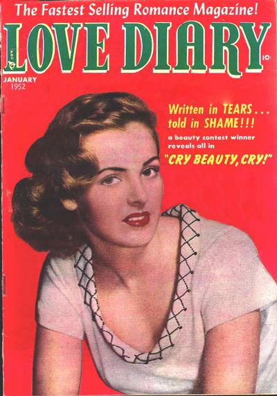 Cover for Love Diary (1949 series) #24