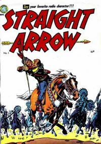 Cover Thumbnail for Straight Arrow (Magazine Enterprises, 1950 series) #1