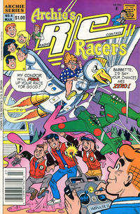 Cover Thumbnail for Archie's R/C Racers (Archie, 1989 series) #4