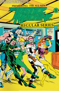 Cover Thumbnail for The Justice Machine (Innovation, 1990 series) #1