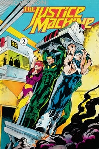 Cover Thumbnail for The Justice Machine (Innovation, 1990 series) #2