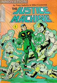 Cover Thumbnail for The Justice Machine (Innovation, 1990 series) #5