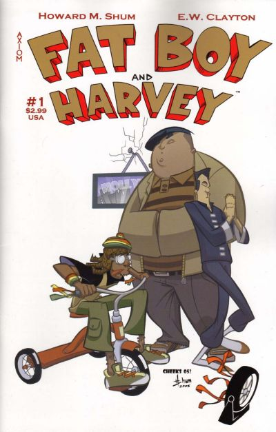 Cover for Fat Boy and Harvey (Axiom, 2005 series) #1
