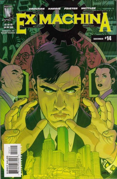 Cover for Ex Machina (DC, 2004 series) #14