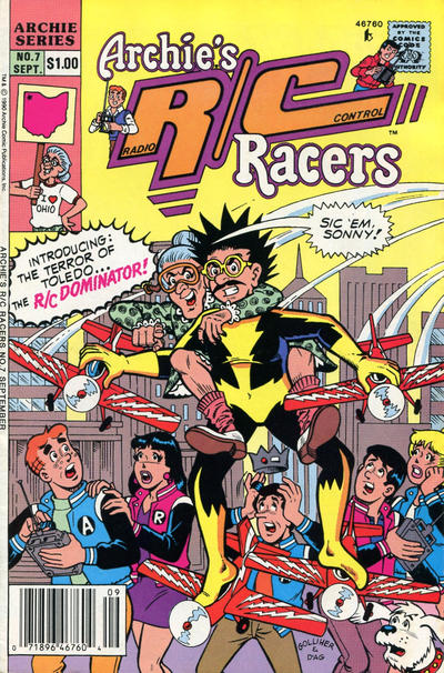 Cover for Archie's R/C Racers (Archie, 1989 series) #7
