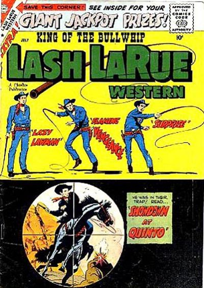 Cover for Lash Larue Western (Charlton, 1954 series) #73