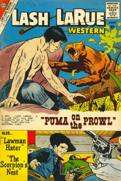 Cover for Lash Larue Western (1954 series) #79