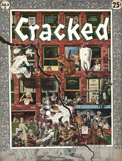 Cover for Cracked (Major Publications, 1958 series) #3