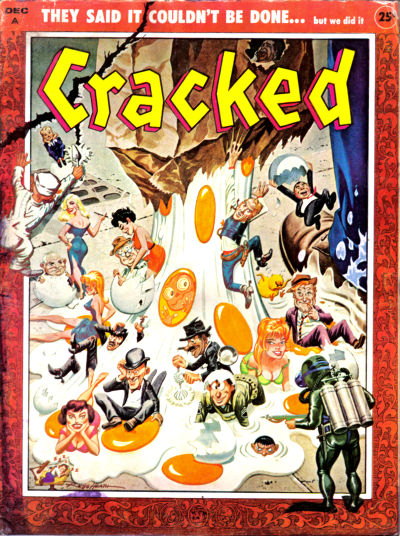 Cover for Cracked (Major Publications, 1958 series) #6