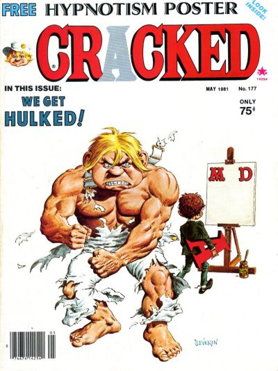 Cover for Cracked (Major Publications, 1958 series) #177
