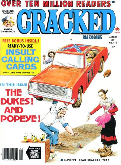 Cover for Cracked (Major Publications, 1958 series) #179