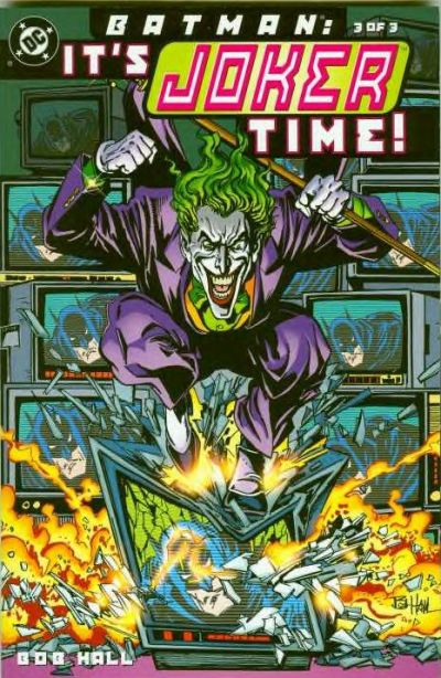 Cover for Batman: Joker Time (DC, 2000 series) #3