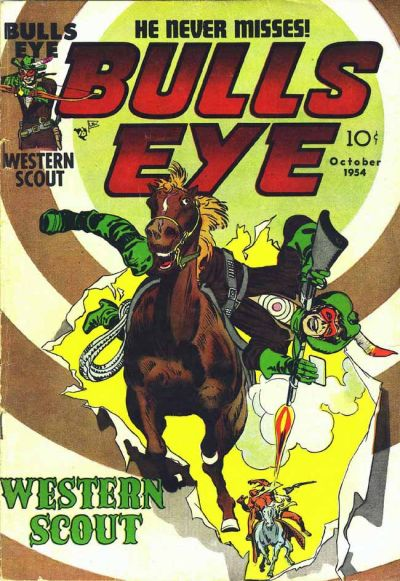 Cover for Bulls Eye (Mainline, 1954 series) #2