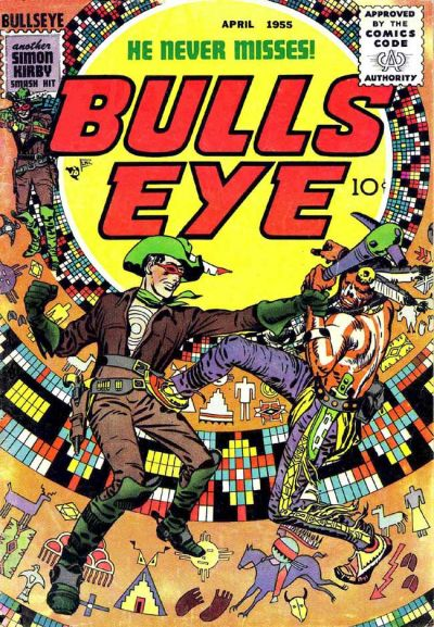 Cover for Bulls Eye (Mainline, 1954 series) #5