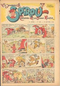 Cover Thumbnail for Le Journal de Spirou (Dupuis, 1938 series) #405