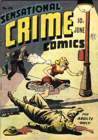 Cover Thumbnail for Sensational Crime Comics (Pioneer Publications, 1948 series) #26