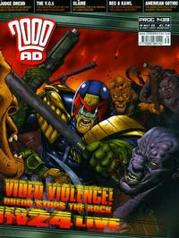 Cover Thumbnail for 2000 AD (Rebellion, 2001 series) #1439