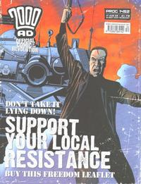 Cover Thumbnail for 2000 AD (Rebellion, 2001 series) #1452