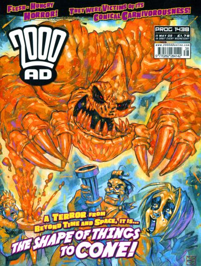 Cover for 2000 AD (Rebellion, 2001 series) #1438