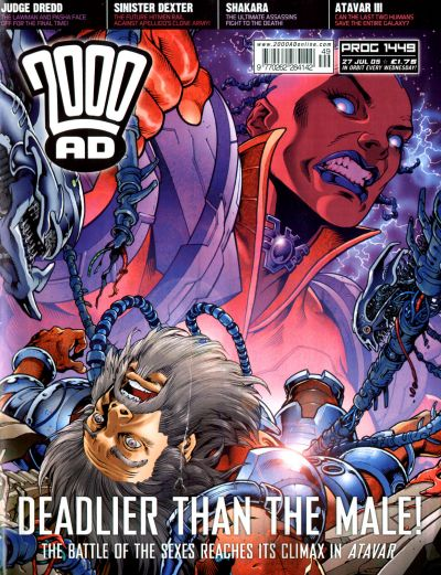 Cover for 2000 AD (Rebellion, 2001 series) #1449