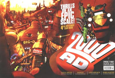 Cover for 2000 AD (Rebellion, 2001 series) #1450