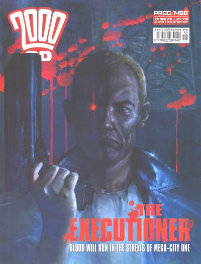 Cover for 2000 AD (Rebellion, 2001 series) #1458