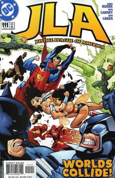 Cover for JLA (DC, 1997 series) #111