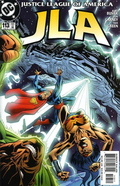 Cover for JLA (DC, 1997 series) #113