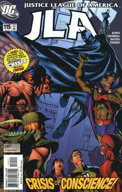 Cover for JLA (DC, 1997 series) #115