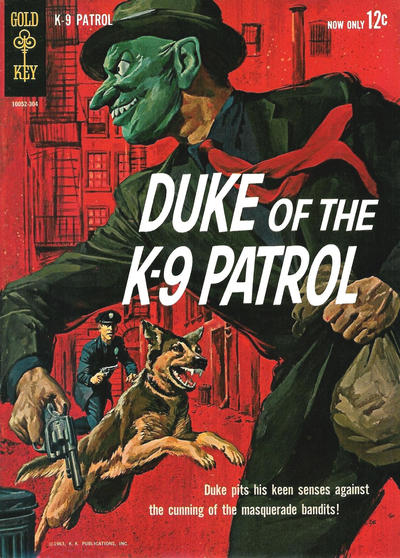 Cover for Duke of the K-9 Patrol (Western, 1963 series) #1