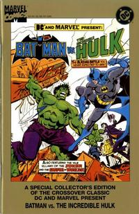 Cover Thumbnail for Batman vs. The Incredible Hulk (DC / Marvel, 1995 series) #[nn]