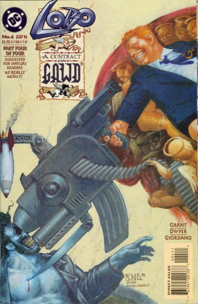 Cover for Lobo: A Contract on Gawd (DC, 1994 series) #4