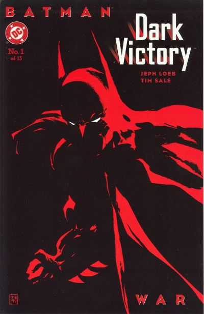 Cover for Batman: Dark Victory (DC, 1999 series) #1