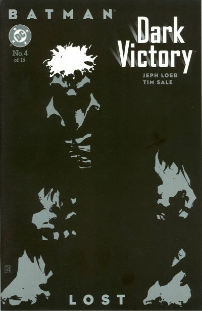 Cover for Batman: Dark Victory (DC, 1999 series) #4