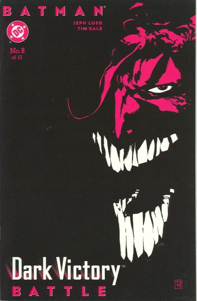 Cover for Batman: Dark Victory (DC, 1999 series) #8