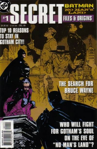 Cover for Batman: No Man's Land Secret Files (DC, 1999 series) #1