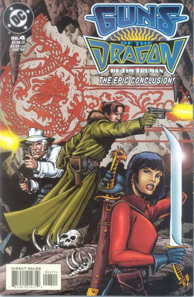 Cover for Guns of the Dragon (DC, 1998 series) #4