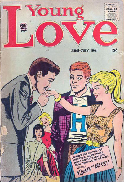 Cover for Young Love (Prize, 1960 series) #v5#1 [26]