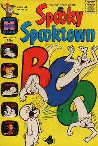 Cover Thumbnail for Spooky Spooktown (Harvey, 1961 series) #19