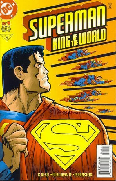 Cover for Superman: King of the World (DC, 1999 series) #1